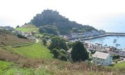 Mont Orgueil was built in the 13th century to protect Jersey from French invasion
